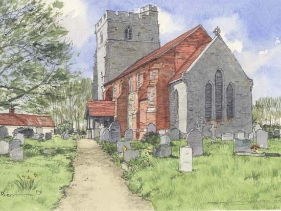 Historic buildings - Client, Friends of St.Mary's Peldon110514