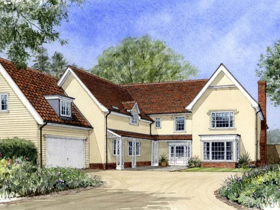 MHH - Finished Illustration Plot 6 Amberfield Park - 300110514